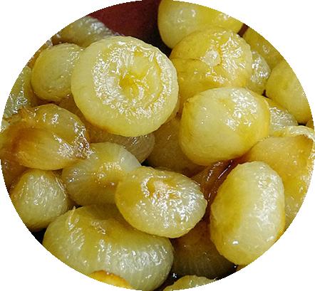 cipolle in agrodolce azienda agricola l'oca di sant'albino verdure