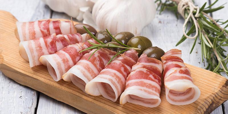 oca di sant albino pancetta prodotti a base di maiale