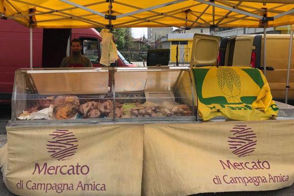 mercato di rho campagna amica azienda agricola l'oca di sant'albino